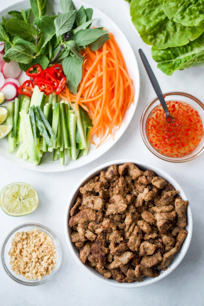Whole30 Vietnamese Pork