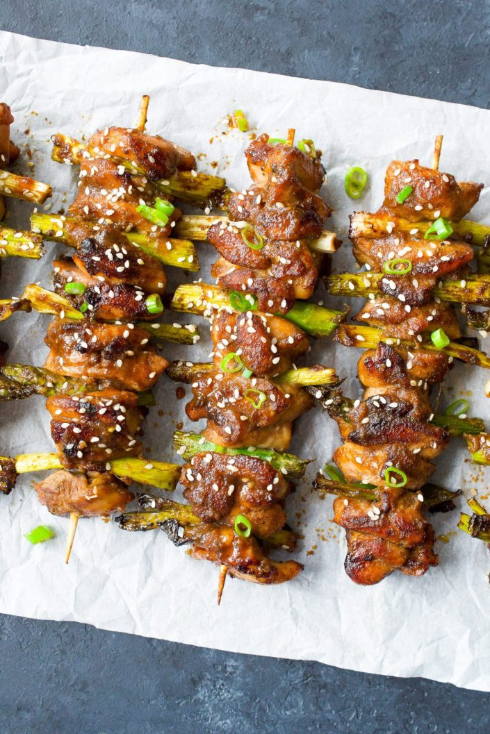 Whole30 Chicken Yakitori