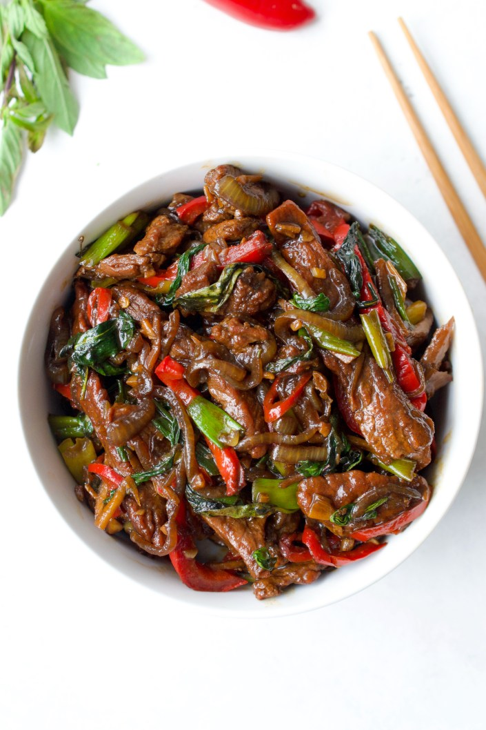 Whole30 Thai Basil Beef