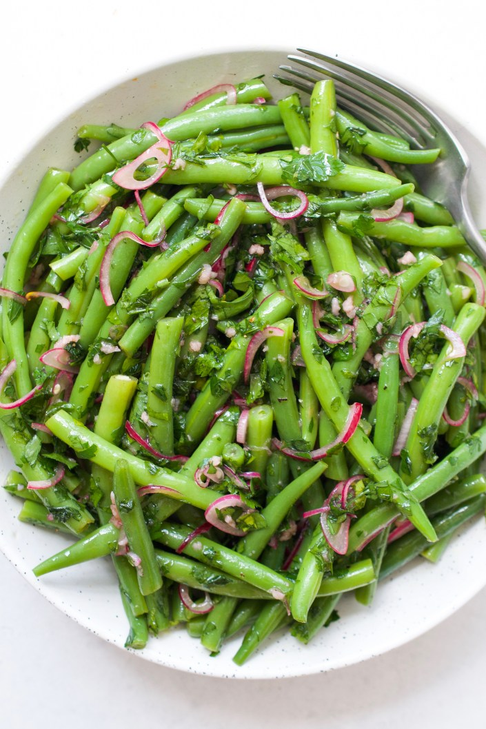 Green Bean Salad with Pickled