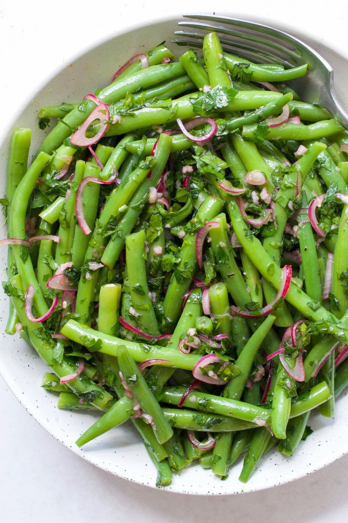 Green Bean Salad with Pickled Shallots