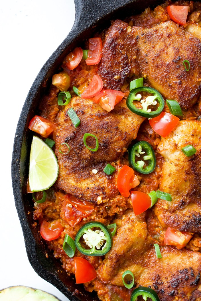 Mexican Chicken Skillet | Every Last Bite