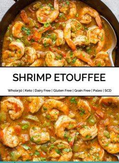 Paleo Shrimp Etouffee