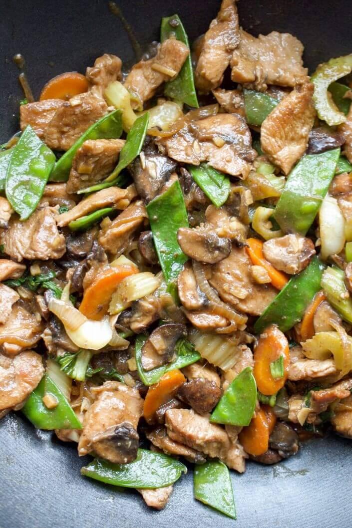 Whole30 Chicken Chop Suey