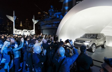Land Rover Reveals New Discovery Concept on Everyman Driver with Dave Erickson