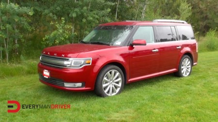 2014 Ford Flex Review with Everyman Driver