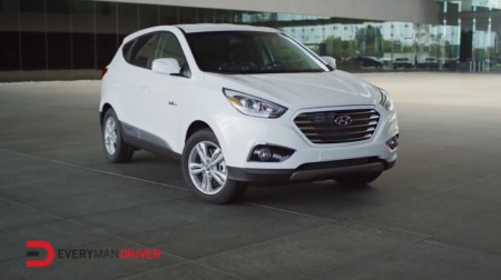 2015 Hyundai Tucson Fuel Cell Vehicle