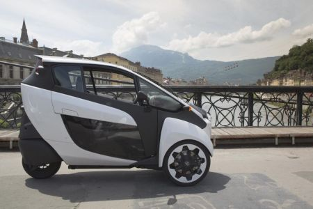 Toyota i-ROAD Project on Everyman Driver