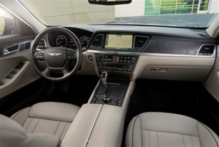 2015 Hyundai Genesis on Everyman Driver Interior