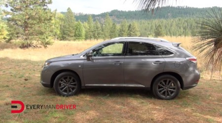 2014 LEXUS RX 350 F SPORT ON EVERYMAN DRIVER WITH DAVE ERICKSON