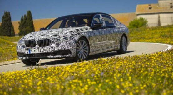 New BMW 7 Series Camouflaged Prototypes on Everyman Driver