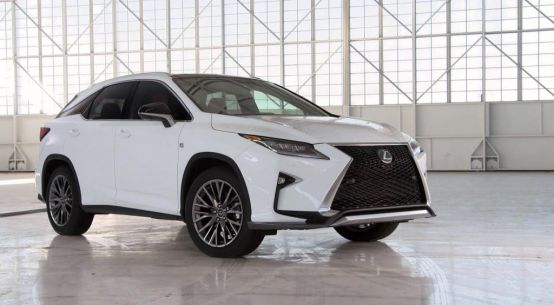2016 Lexus RX, 2015 New York International Auto Show