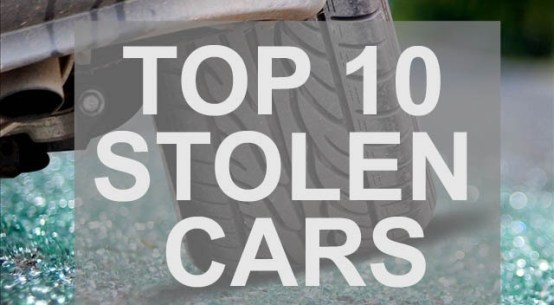 10 Most Stolen Vehicles in America on Everyman Driver