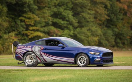 2016 Ford Cobra Jet Mustang Drag Racer Unveiled at SEMA on Everyman Driver