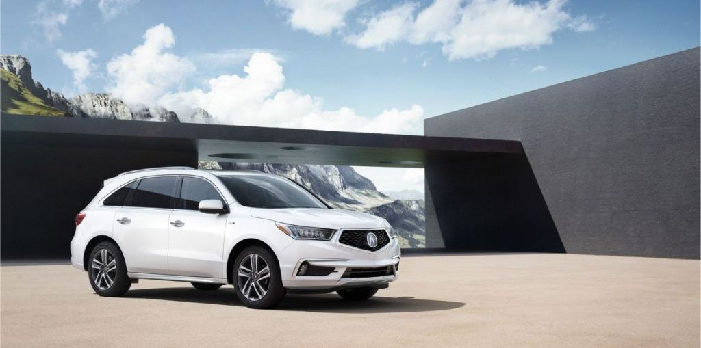 2017 Acura MDX at New York International Auto Show on Everyman Driver