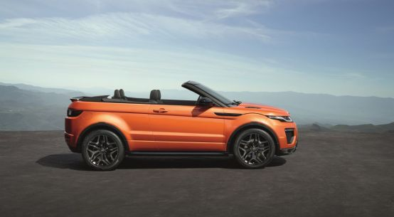2016 Range Rover Evoque Convertible on Everyman Driver