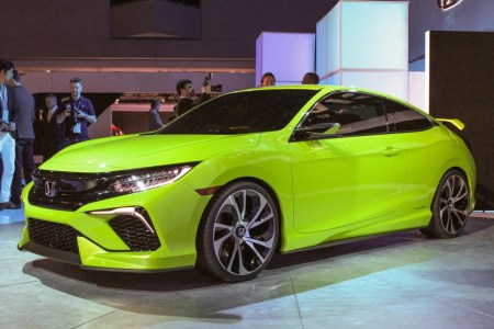 2016 Honda CIvic Coupe Review on Everyman Driver with Dave Erickson