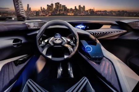 Everyman Driver: Lexus UX Concept Introduces Immersive 3-D Driving Experience
