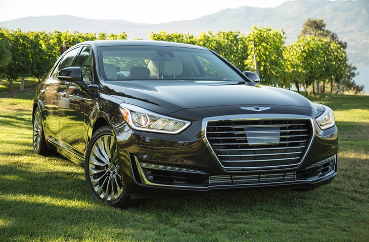 2017 Genesis G90 Flagship Sedan First Look on Everyman Driver with Dave Erickson