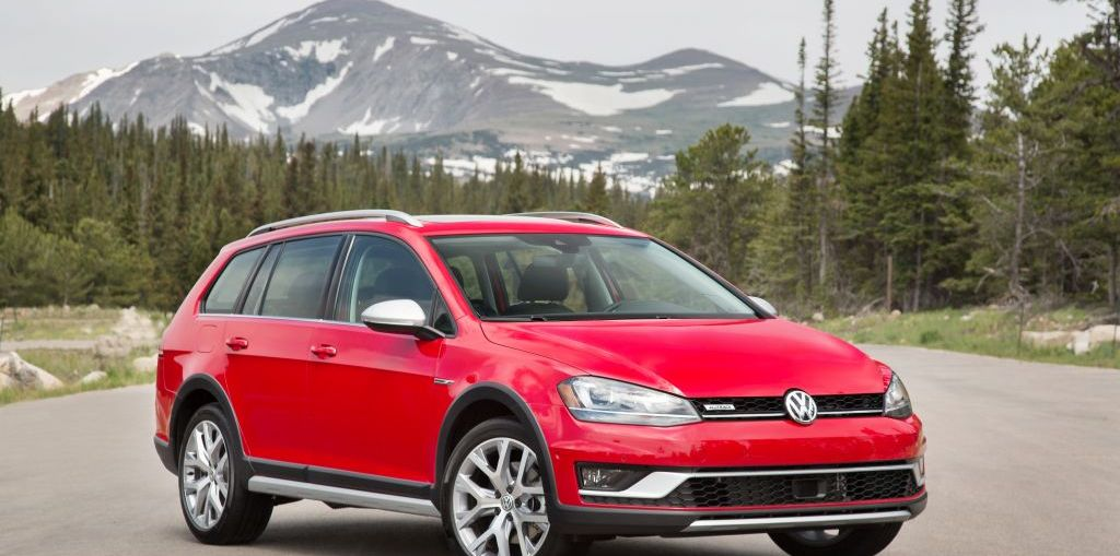 2017 Volkswagen Golf Alltrack 4Motion