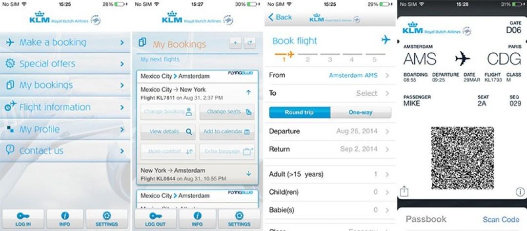 KLM Mobile App