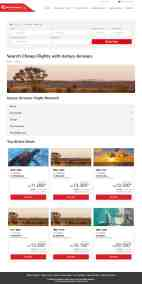 Kenya Airways airTRFX page