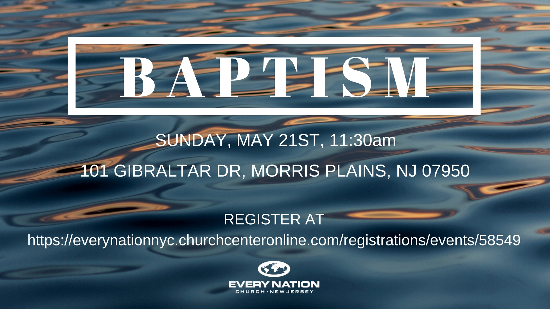 Water Baptism Every Nation New Jersey