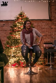 Ilze Gideons at 414 Youth Christmas Event