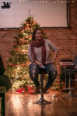 Ilze Gideons at 414 Youth Christmas Event