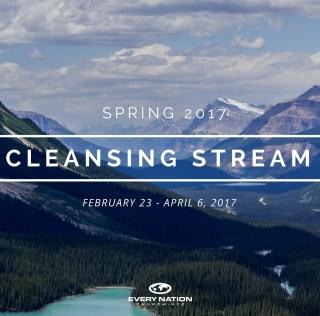Cleansing Stream, Spring 2017