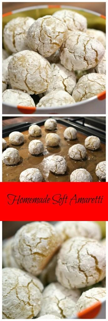 Homemade Soft Amaretti