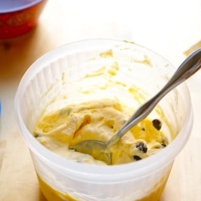 Orange Choc Chip Ice Cream