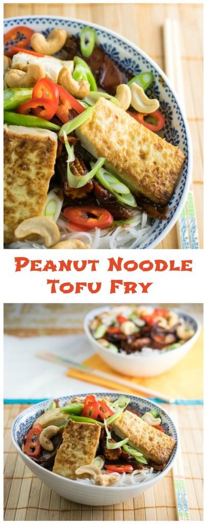 Peanut Noodle tofu Fry
