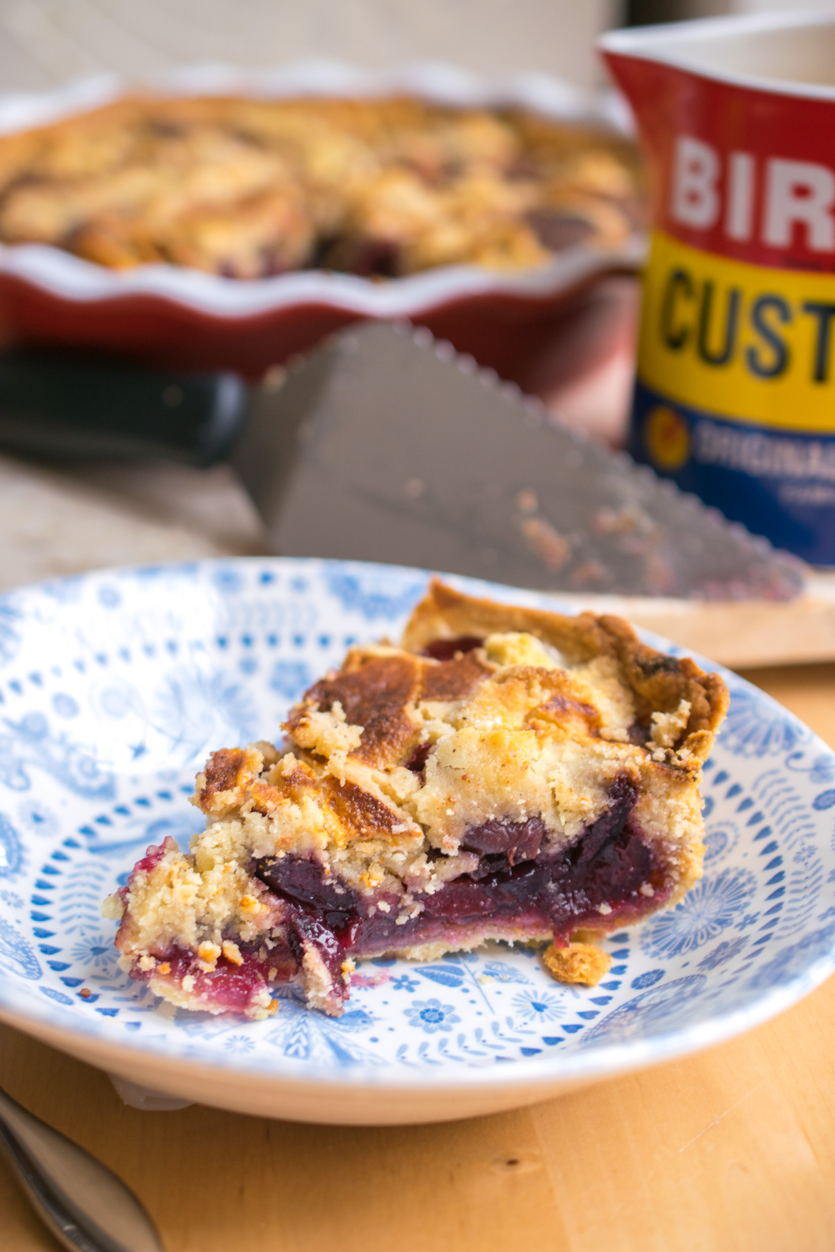 Cherry Cobbler Pie-3