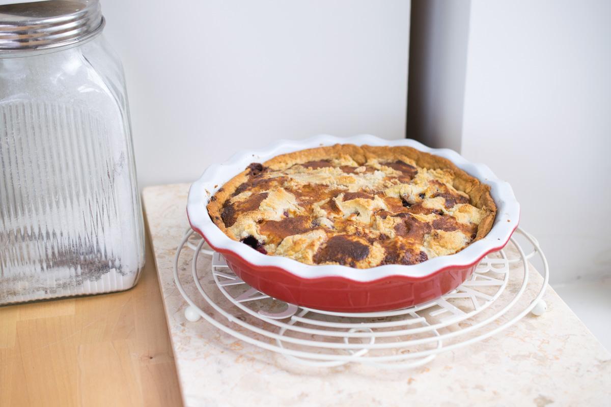 Cherry Cobbler Pie - Every Nook & Cranny