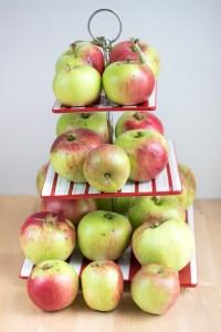 Apple Fudge Crumble Tray Bake
