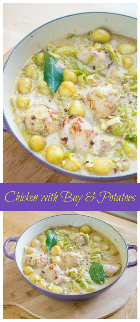 Chicken with Bay & Potatoes