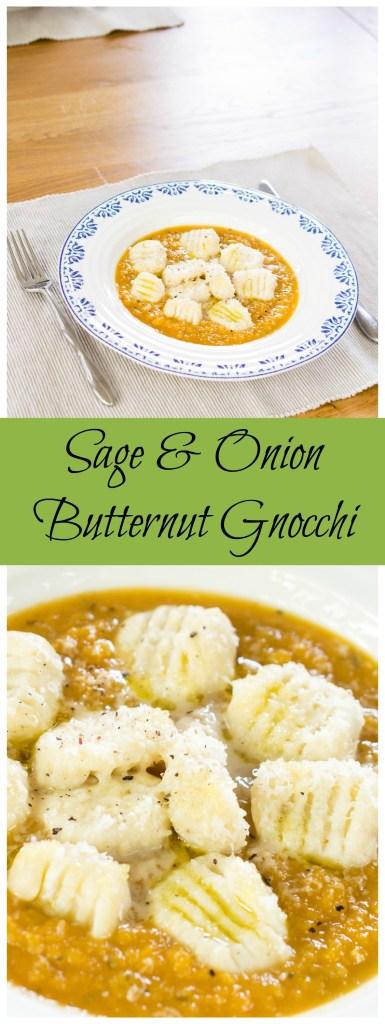Sage & Onion Butternut Gnocchi