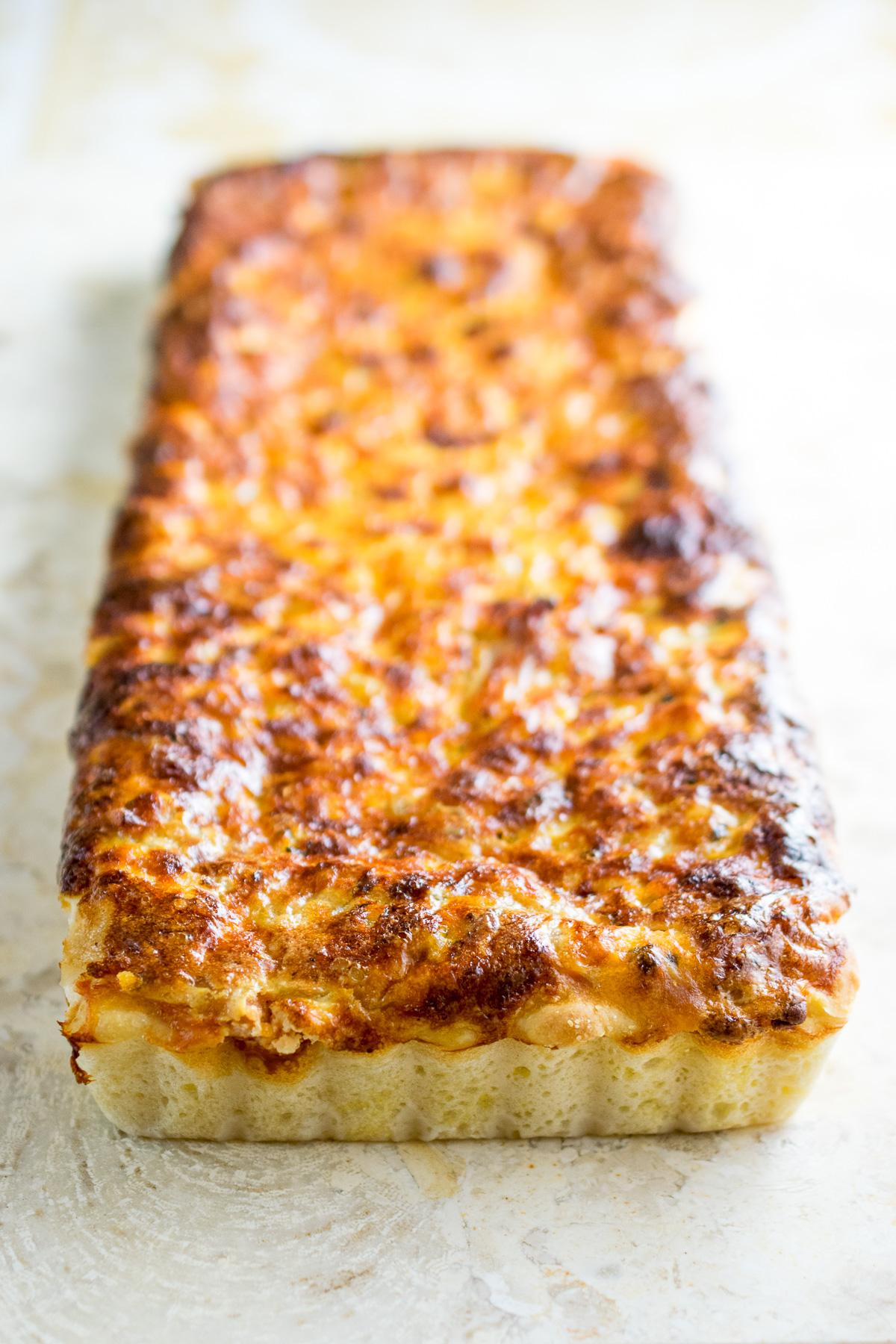 Cheesy Beans & Bacon Quiche-3
