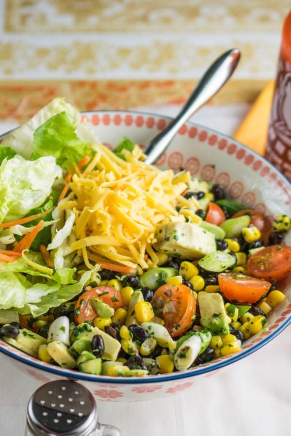 Mexican Salad Bowl Every Nook Cranny