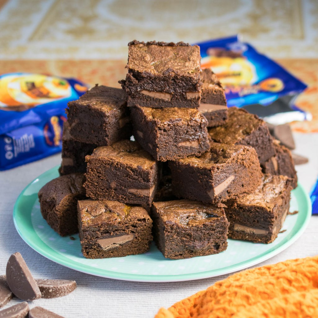 Terry's Chocolate Orange Brownies - Every Nook & Cranny