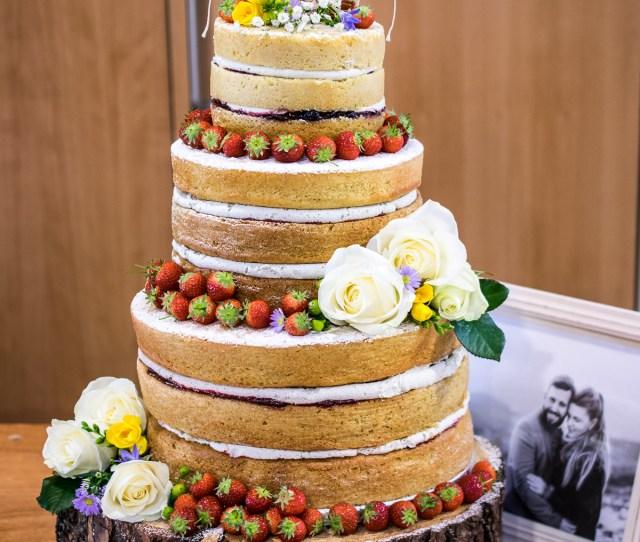 Making A Naked Wedding Cake Every Nook Cranny