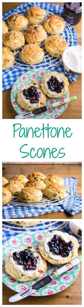 panettone scones