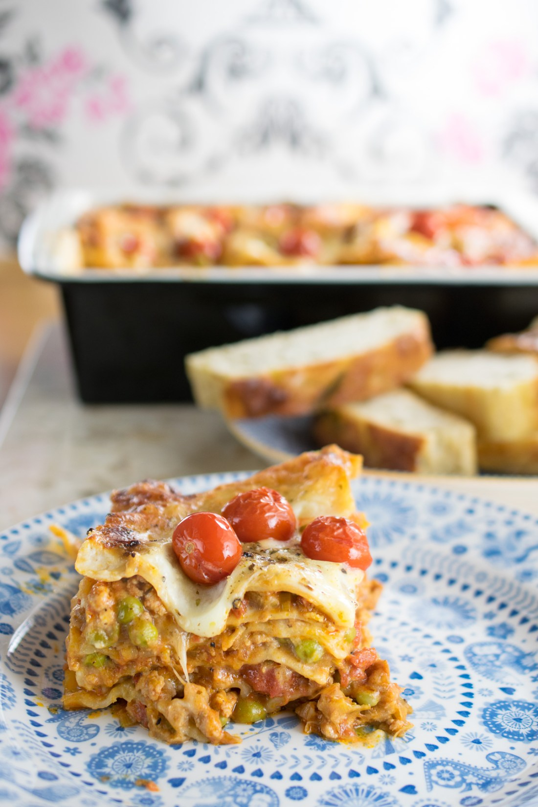chicken and pea lasagne_-3