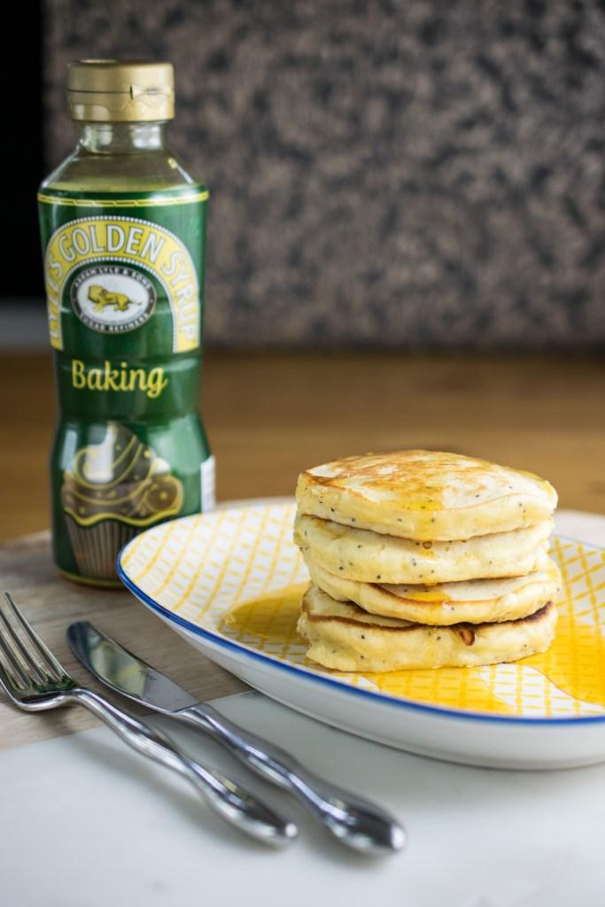 lemon & ginger pancakes-7