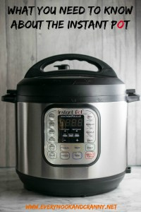 What you need to know about the Instant Pot for newbies and potential buyers alike.