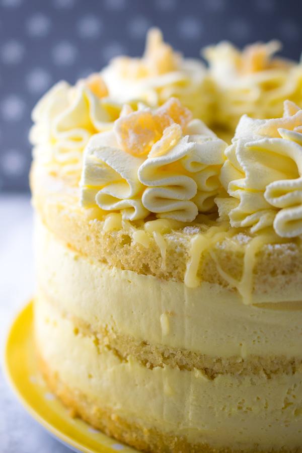 Lemon Cheesecake Mousse Cake Every Nook Amp Cranny