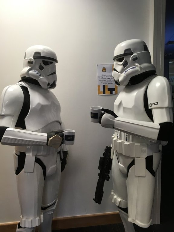 Stormtroopers at Everyone Can Game