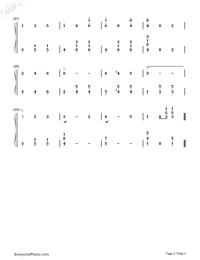 The Blue Danube-EOP Demon Training Camp Free Piano Sheet