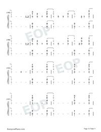 Everglow-Coldplay Free Piano Sheet Music & Piano Chords